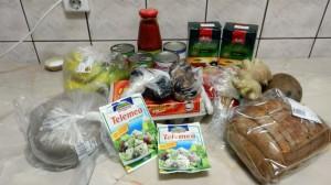 Cumpărăturile şi meniul acestei săptămâni