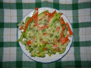 Reteta de salata de paste cu legume
