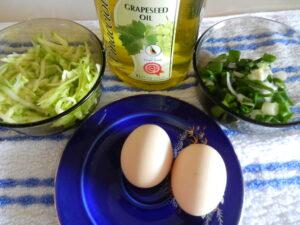 Omleta cu dovlecel ingrediente