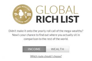 Și dacă ți-aș spune că te numeri printre bogații acestei lumi?