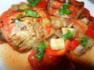 Rulouri de vită cu vinete – mâncare turcească