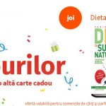 Dieta cu sucuri naturale – carte gratuită la orice comandă de azi