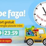 Transport gratuit + promoții astăzi la Noriel