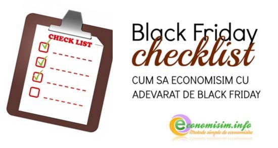 Ce voi cumpăra de Black Friday