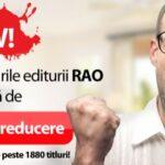 Reducere 50% pentru toate titlurile RAO