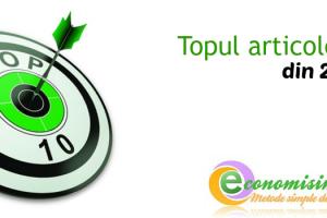 Top articole Economisim.info în 2014