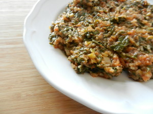 Rețeta de mâncare de ștevie cu orez