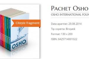Pachetul Osho cu 50% reducere la Litera