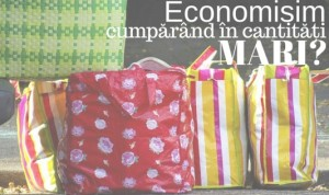 Economisim bani cumpărând în cantități mari?