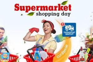 Transport gratuit la eMag-Mega Image – Supermarket Shopping Day