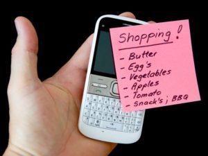 8 motive pentru a nu uita niciodată lista de cumpărături acasă