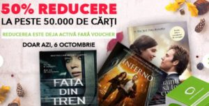 50% reducere la cărți pe Elefant, doar astăzi + recomandari