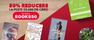 Voucher Elefant: 50% reducere la cărți