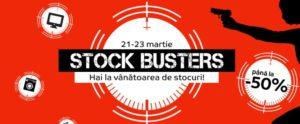 Promoție Stock Busters cu oferte foarte bune la eMag