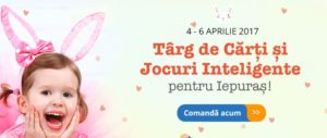 Promoție Libris: Târg de cărți și jocuri pentru Iepuraș