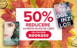 Voucher Elefant: 50% reducere la cărți, doar astăzi