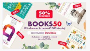 Voucher Elefant astăzi: 50% reducere la cărți