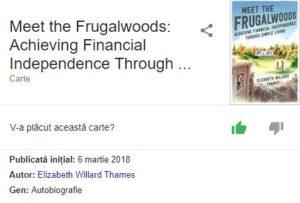 Meet the Frugalwoods [recenzie carte]