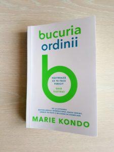 Bucuria ordinii, de Marie Kondo